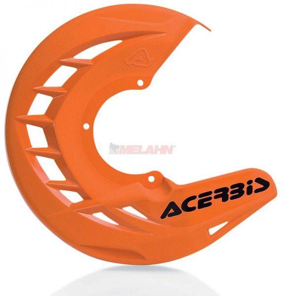 ACERBIS Kunststoff-Bremsscheibenschutz vorne: X-Brake , orange 2016