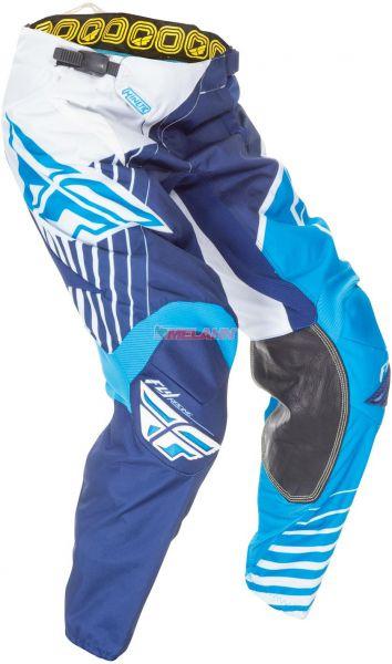 FLY Hose: Kinetic Vector, blau/weiß