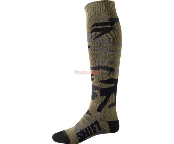 Shift Socke (Paar): Whit3, grün