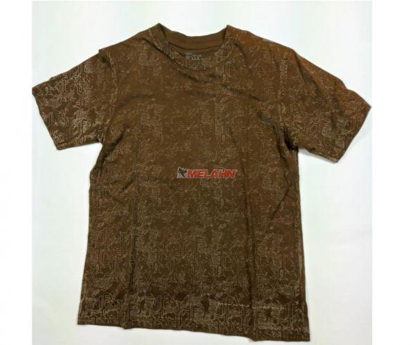 FOX Kids T-Shirt: Imperial, braun, Gr. KM