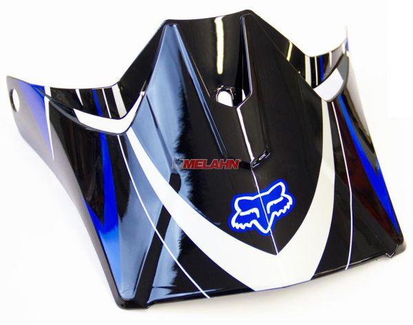 FOX Helmschirm: Visor V3 Race 2007, navy