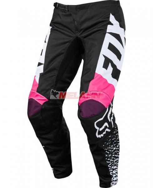FOX Youth Girls Hose: 180, schwarz/pink