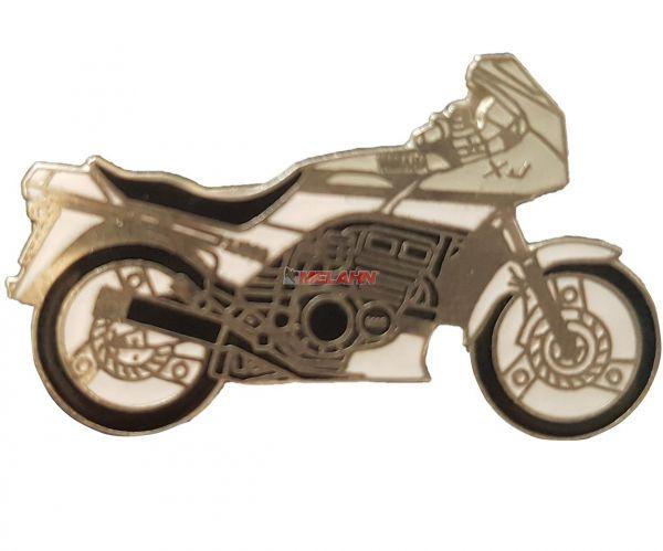 Pin YAMAHA XJ 600, grau/weiß