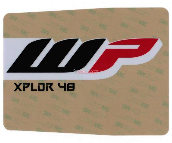 KTM Gabel-Aufkleber WP XPLOR 48 (Paar) klar, 48mm