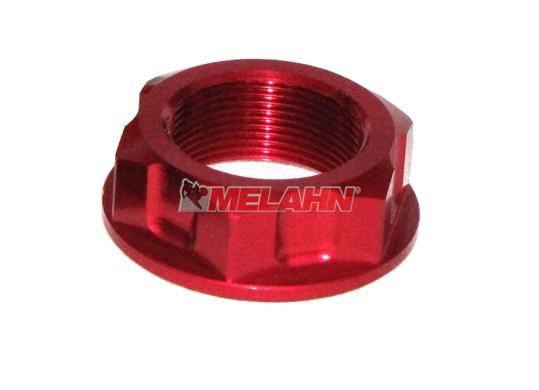 ZAP Aluminium-Steuerkopfmutter KX/KXF 04-, rot
