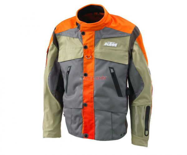 KTM Jacke: Rally, grau/orange/sand