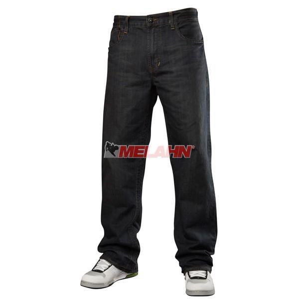 FOX Kids Jeans Hose: Throttle Dirty Rinse, dunkelblau