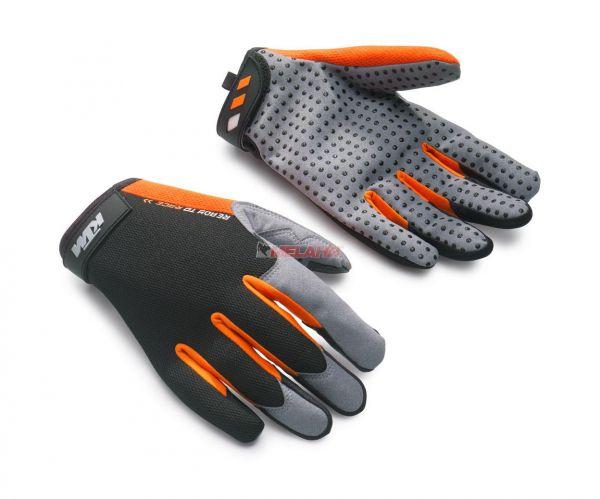 KTM Mechanikerhandschuh: Engine, schwarz/orange