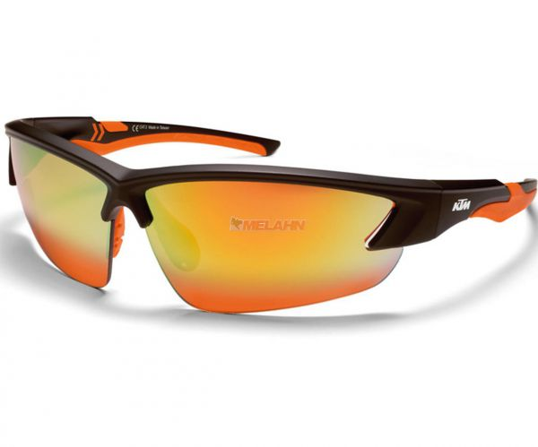 KTM Sonnenbrille: Corporate Shades, schwarz/orange