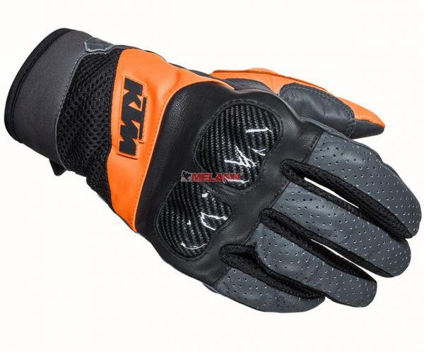 KTM Handschuh: Radical X, schwarz/grau