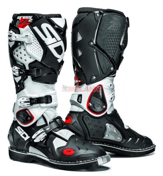 SIDI Stiefel: Crossfire 2, schwarz/weiß