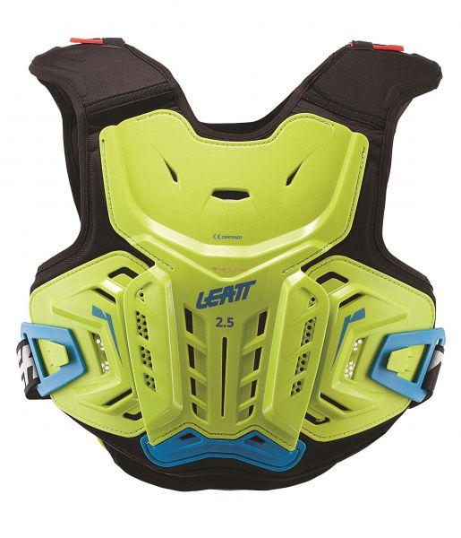 LEATT Kids Brustpanzer: 2.5 Junior, lime/blau