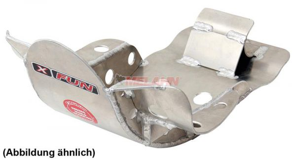 X-FUN Aluminium-Motorschutz groß, YZF 250 06-09