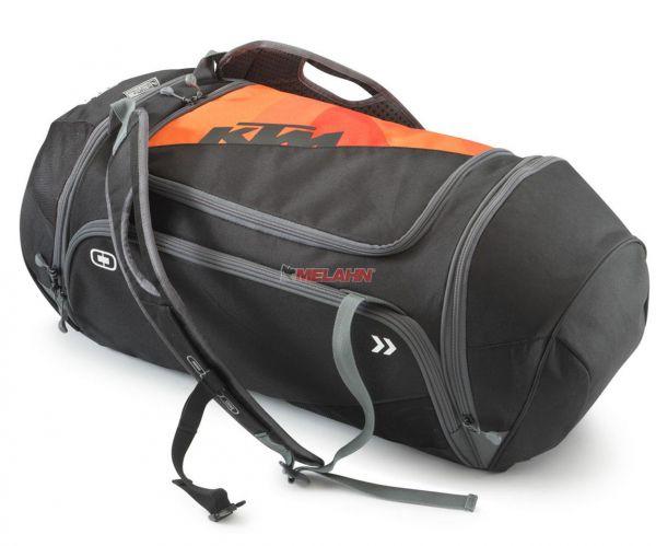 KTM Tasche: Orange Duffle Bag, schwarz/ornge