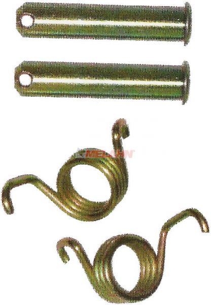 MT Pins und Federn für Fußrasten (Paar) Übergröße 11mm, KX/KXF/YZ/YZF