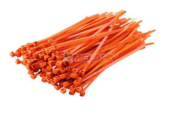 KTM Kabelbinder (100 Stück), 180mm, orange