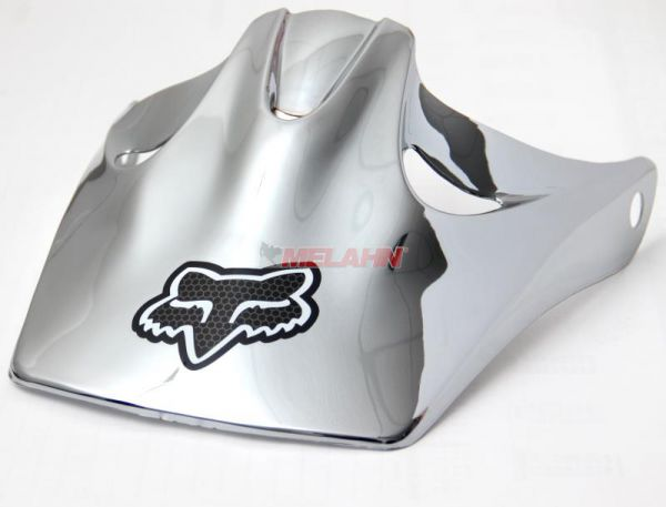 FOX Helmschirm: Visor Flite 2000, chrome