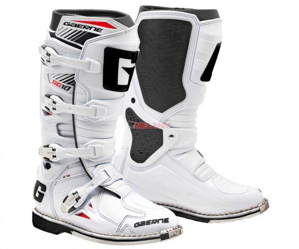 GAERNE Stiefel: SG 10 Techno Race, weiß