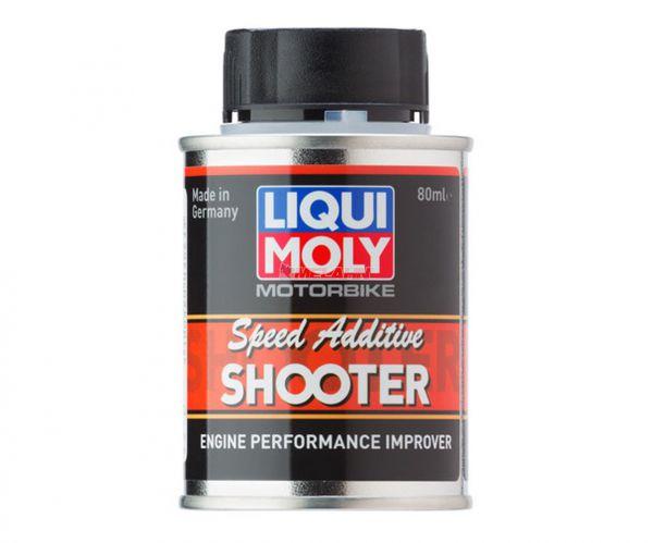 LIQUI MOLY Benzin Additive: Motorbike Speed Shooter 2T, 80ml