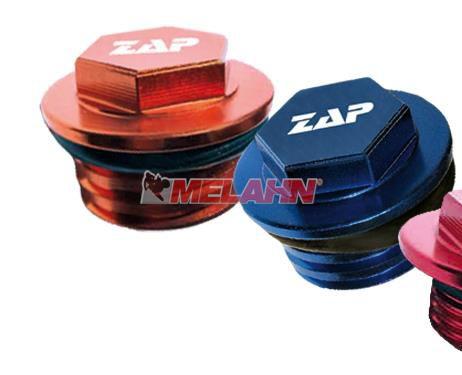 ZAP Aluminium-Öleinfüllschraube GasGas/KTM/Husqvarna, orange