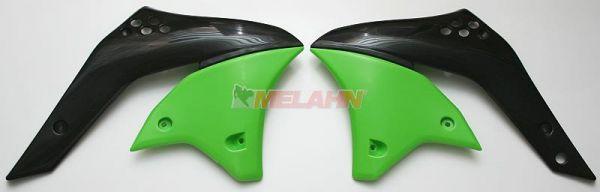 UFO Spoiler (Paar) Kühlerverkleidung KXF 250 2006, grün05