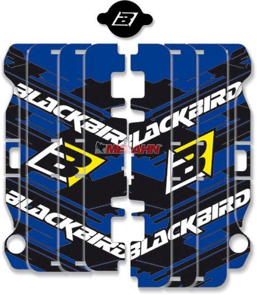 BLACKBIRD Aufkleber Kühlerschutz (Paar), YZF 250 10-13