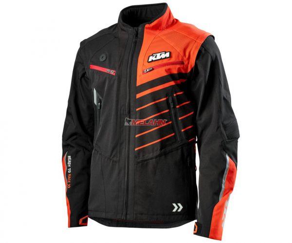 KTM Jacke: Racetech, schwarz/orange