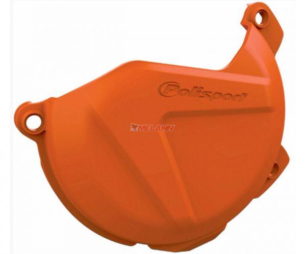 POLISPORT Kupplungsdeckelschutz KTM SX 125/150 16- , orange