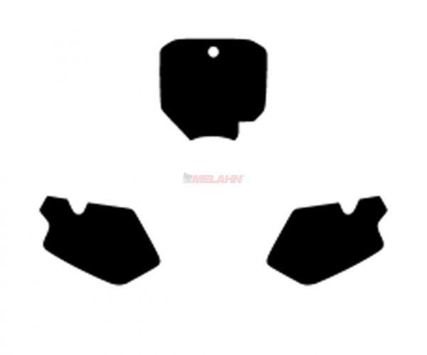BLACKBIRD Startnummernuntergrund CR 85 03-07, schwarz