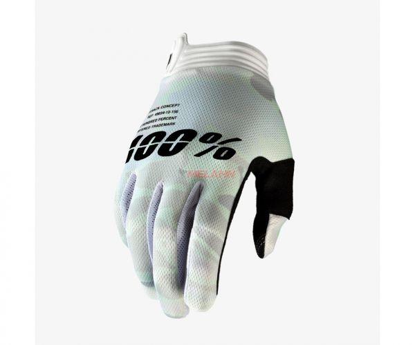 100% Handschuh: I-Track,weiß/camo