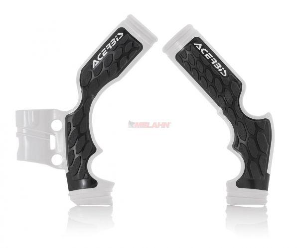 ACERBIS Rahmenschützer (Paar): X-Grip weiß, TC 65 17-