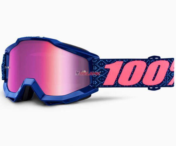 100% Brille: Accuri Futura, blau/pink