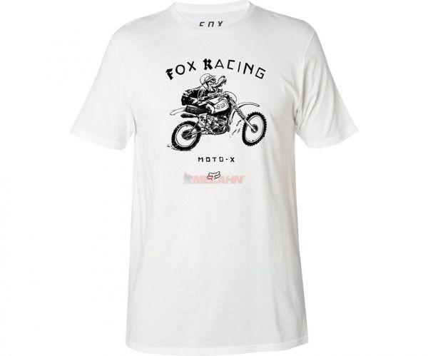 FOX Premium T-Shirt: Brigade, weiß