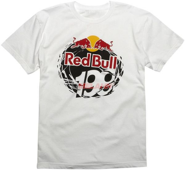 FOX TP199 T-Shirt: Red Bull / Pastrana 199, weiß