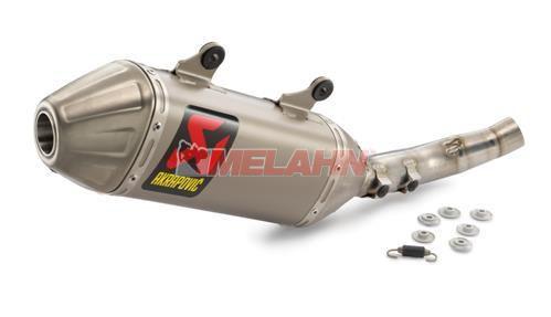 AKRAPOVIC Titan Werks-Enddämpfer Slip-On-Line, 250/450 SX-F 19-