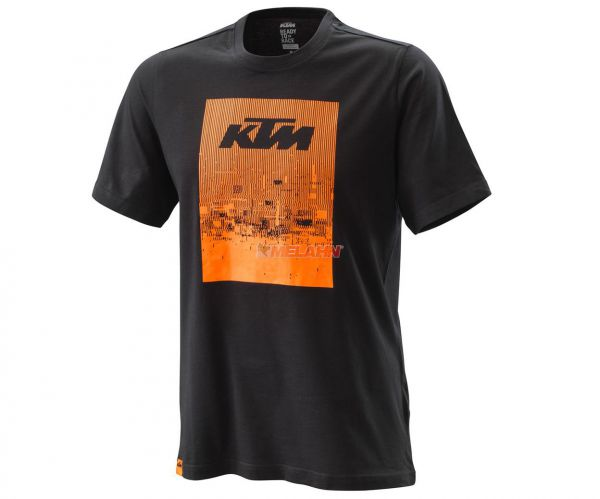 KTM T-Shirt: Radical, schwarz/orange
