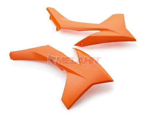 KTM Spoiler (Paar) ohne Dekor, SX 11-12 / EXC 12-13 / SMR 12, orange