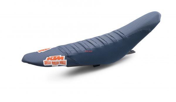 KTM Sitzbezug Factory Gripp, blau, SX 11-15 / EXC/SMR 12-16