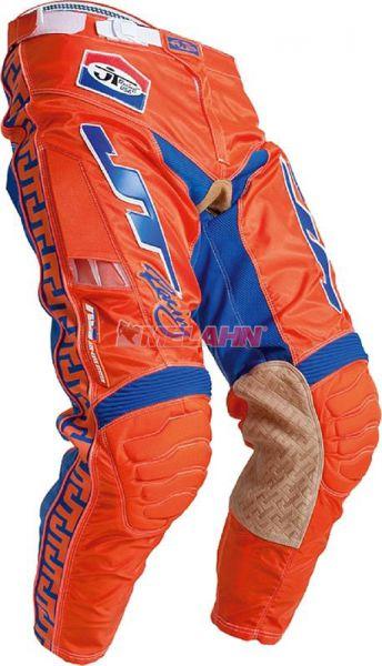 JT-RACING Hose: Classic, orange/blau