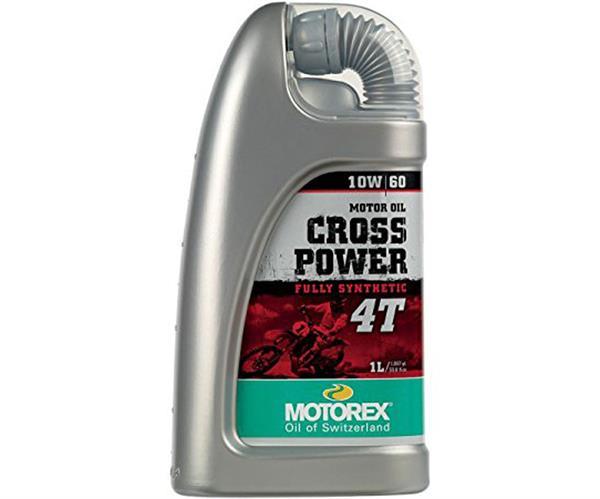 MOTOREX Cross Power 4T 1l, 10W-60 vollsynthetisch