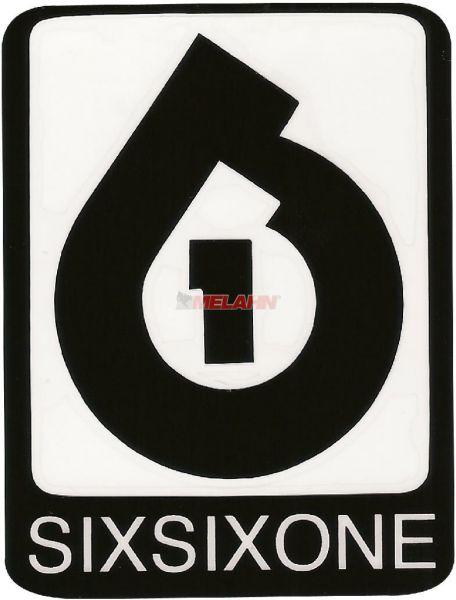 SIXSIXONE Die-Cut 5x7cm (Paar), schwarz
