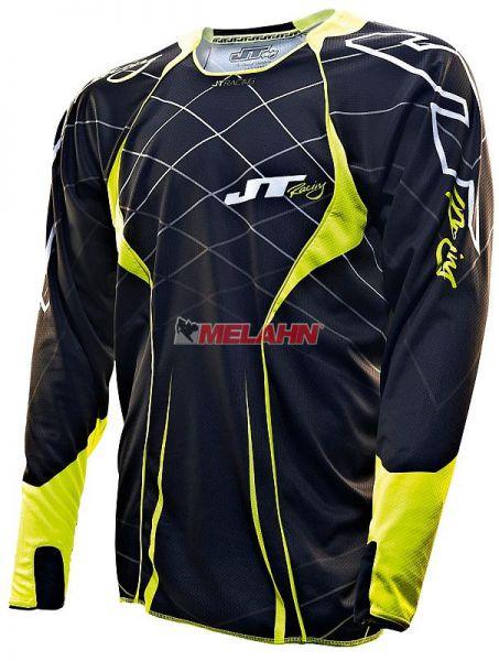 JT-RACING Hemd: Evolve Lite, blau/orange