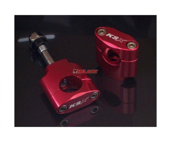 KSX Anbaukit: Ø 28,6, rot, 35mm hoch