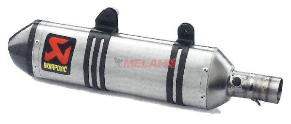 AKRAPOVIC Titan Werks-Enddämpfer, SX-F 07-12 / EXC-F 07-16