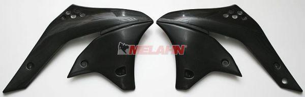 UFO Spoiler (Paar) Kühlerverkleidung KXF 250 2006, schwarz