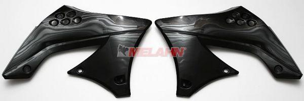 UFO Spoiler (Paar) Kühlerverkleidung KXF 450 2009, schwarz