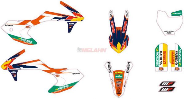 KTM Factory Graphic Kit 65 SX 16-