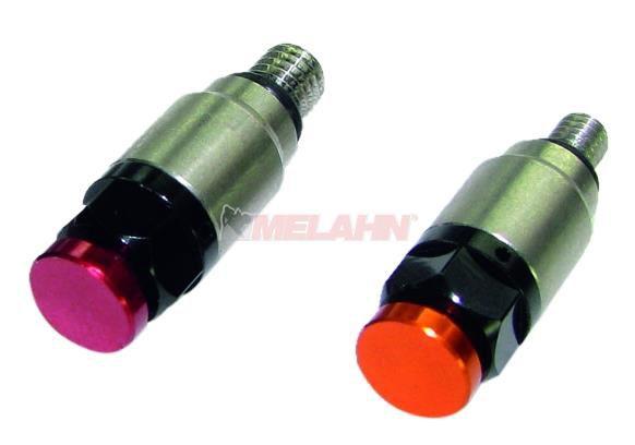 TECH Gabelentlüftungsventil (Paar) M4 (WP), 4mm, rot