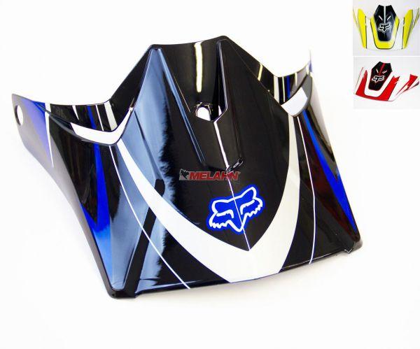 FOX Helmschirm: Visor V3 Race 2007, schwarz