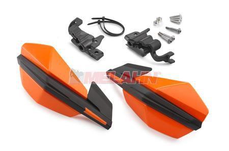 KTM Handprotektoren (Paar): MX III, Griffmontage, orange